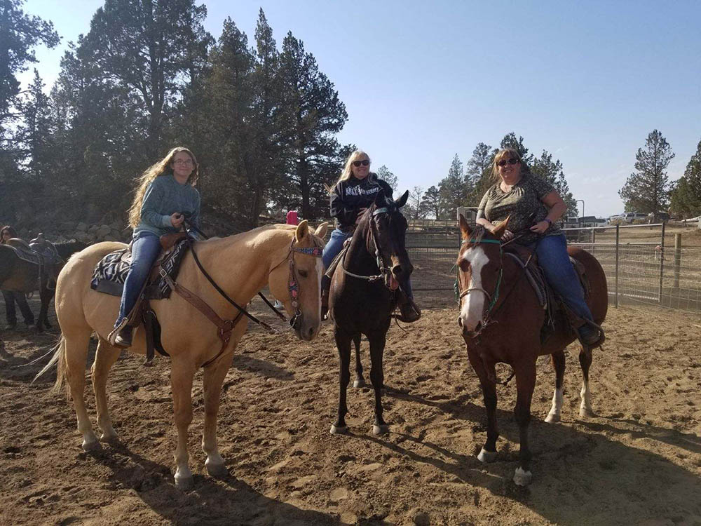 all ages horseback riding lessons in Bend