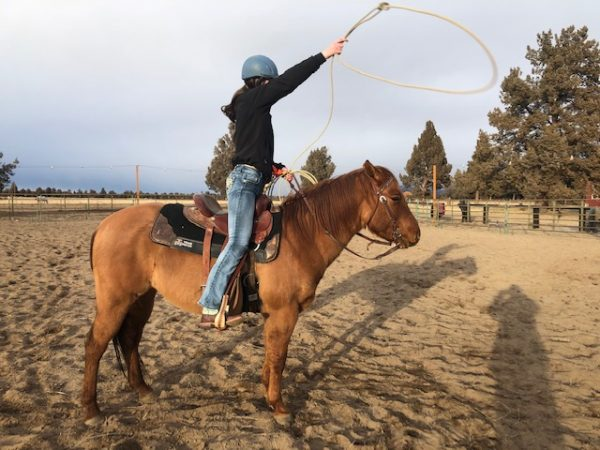 roping lessons bend oregon