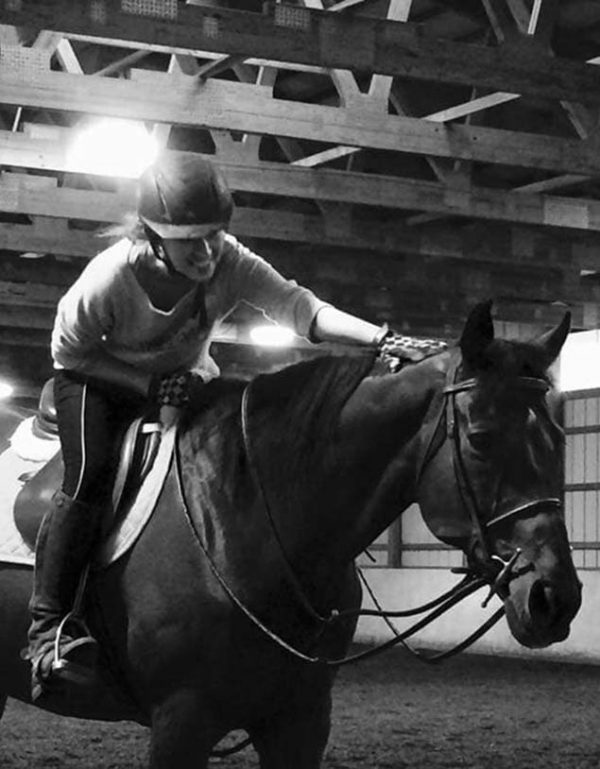 Sam Fletcher horseback riding lessons