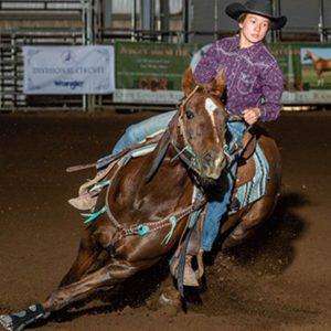zoey Miller horseback riding lessons